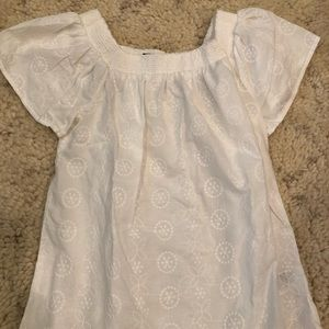 Babydoll flare top